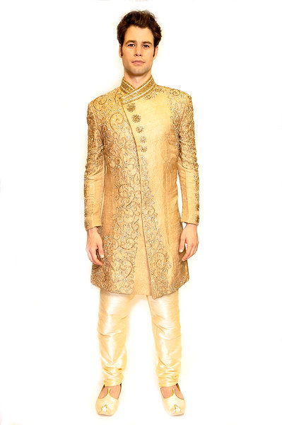 Heritage Crafted Jewel Formal Sherwani