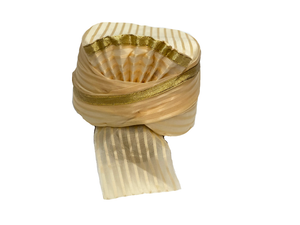 Gold  Plain Turban