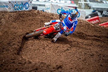 Fourth and Sixth for Roczen, Brayton at AMA Supercross Round 16