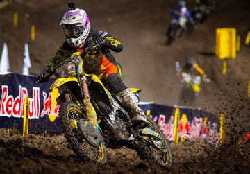 Max Anstie Gains in Motocross Championship Points at Thunder Valley National