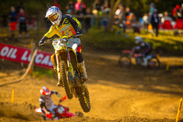 Alex Martin Qualifies Fastest and Posts Impressive Third Overall at Spring Creek Motocross