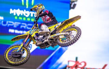 Suzuki's Alex Martin Cards Top-Five Finish at Anaheim 2 Supercross