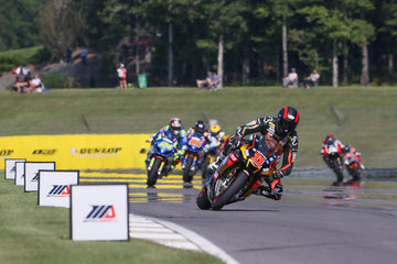 Scholtz Double-Podiums In Superbike For Westby Racing; Wyman Gets Caught In Charlotte's Web In Junior Cup