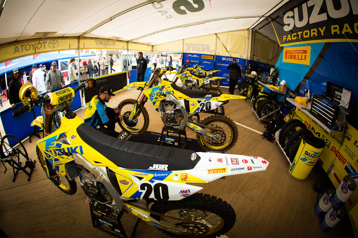 JGRMX / Yoshimura / Suzuki Racing Report: Dallas Supercross ...