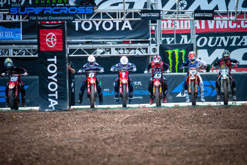 Sexton Podiums as Supercross Returns from Unprecedented Layoff