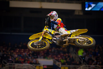 Suzuki's Alex Martin Charges to an Impressive Fourth Place in St. Louis