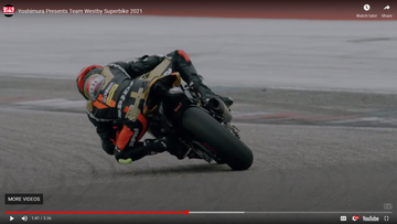 Yoshimura Debuts New Video About Westby Racing Team