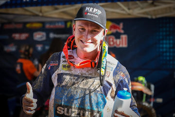H.E.P. Motorsports' Max Anstie 3rd place in Moto #2
