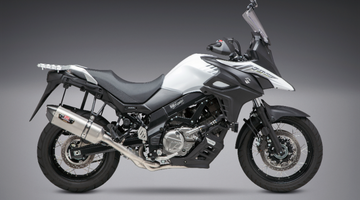 Yoshimura Introduces 2017-18 Suzuki V-Strom 650  Race Series 3/4 System