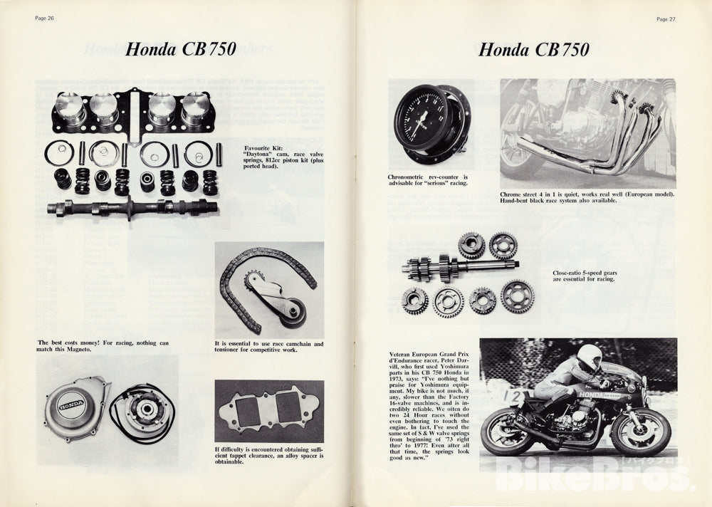 Yoshimura Performance Parts for CB750