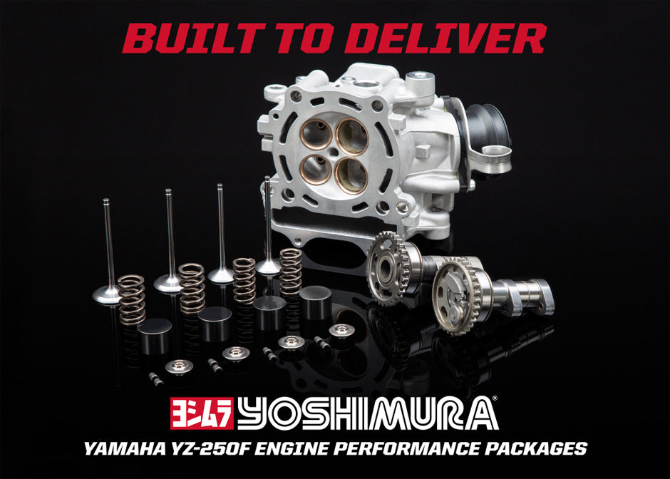 Yoshimura Engine Performance Package YZ250F Built to Deliver
