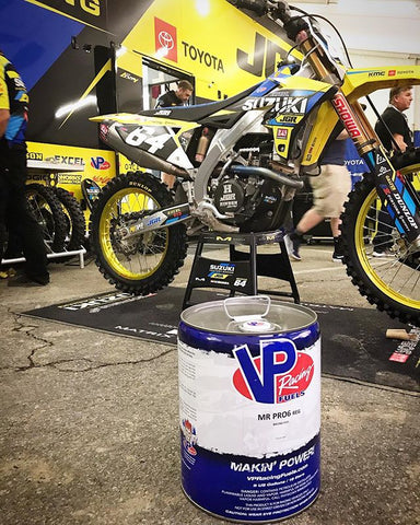 JGRMX Yoshimura Suzuki Factory Supercross Team and VP Racing Pro6 Fuel