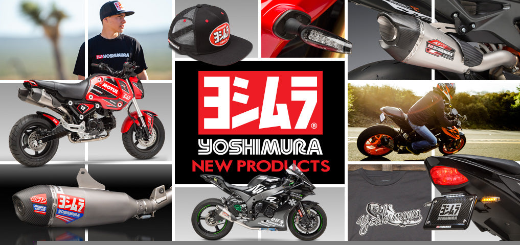 Yoshimura New Products Page