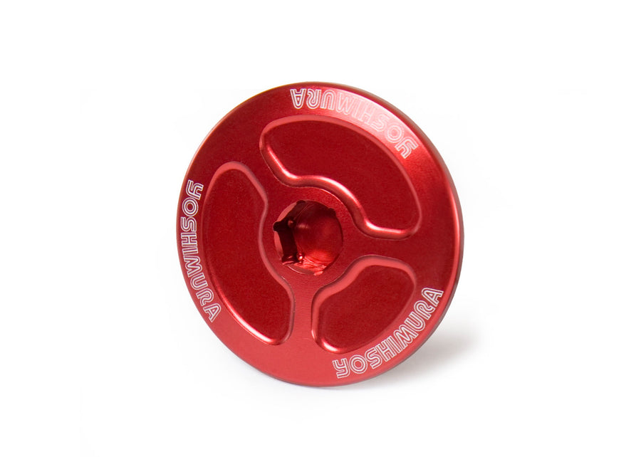 YAMAHA Crank Inspection Plug Red