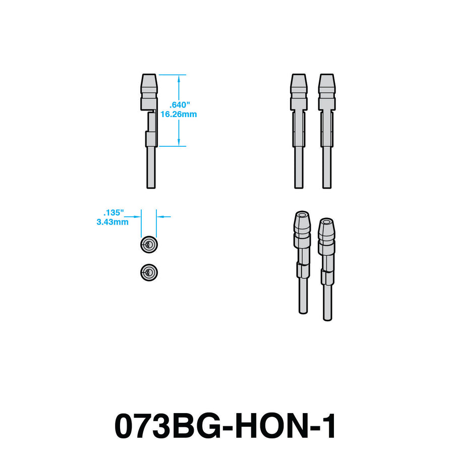 Plug-n-Play Turn Signal Adapters for HONDA (STYLE 2)
