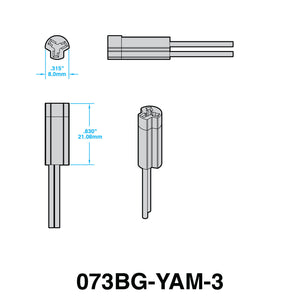 YOSHIMURA Plug-n-Play Turn Signal Adapters for YAMAHA (STYLE 3)