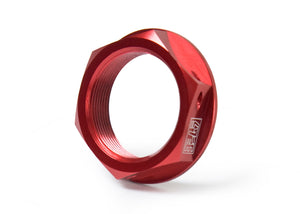 HONDA Dirt Steering Stem Nut Red