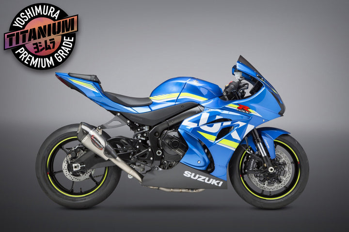 SUZUKI GSX-R1000 2017-20 Race ALPHA T FS Ti-Ti-CF Works Finish