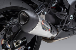 KATANA 2020 ALPHA Stainless Slip-On Exhaust, with Stainless Muffler