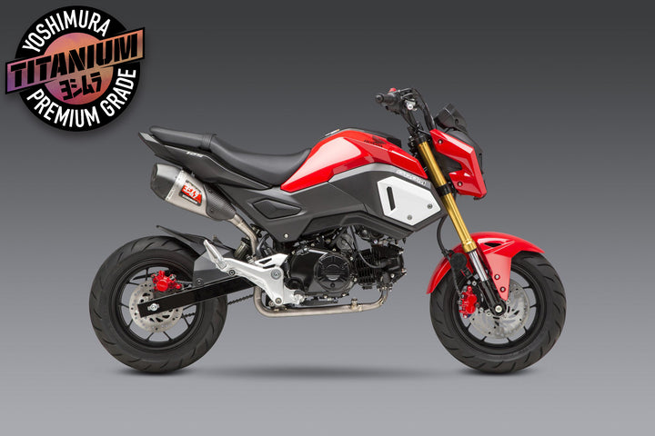 HONDA GROM 2014-20 Race RS-9T Ti-Ti-CF High-Mount