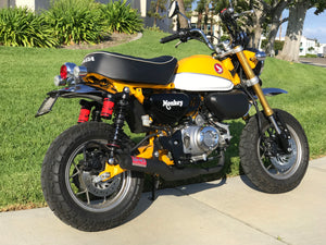 U.S. SPEC MONKEY 19-20 Race Straight Cyclone Full System Exhaust