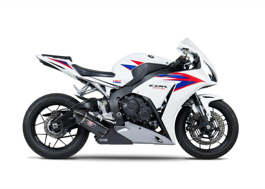 CBR1000RR/ABS 12-13 Race R-77 Stainless Slip-On Exhaust, w/ Carbon Fiber Muffler
