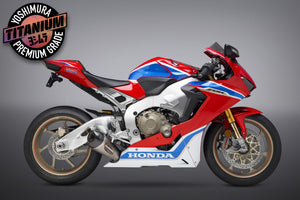 HONDA CBR1000RR/SP/SP2 2017-19 Street ALPHA T SO Ti-Ti-CF Works Finish