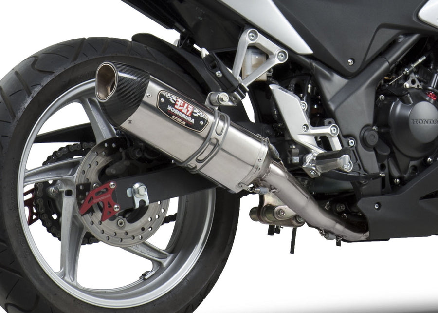 CBR250R 11-13 Race R-77 Stainless Full Exhaust, w/ Stainless Muffler