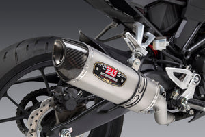 CB300R 19-20 Race R-77 Stainless Slip-On Exhaust, w/ Stainless Muffler