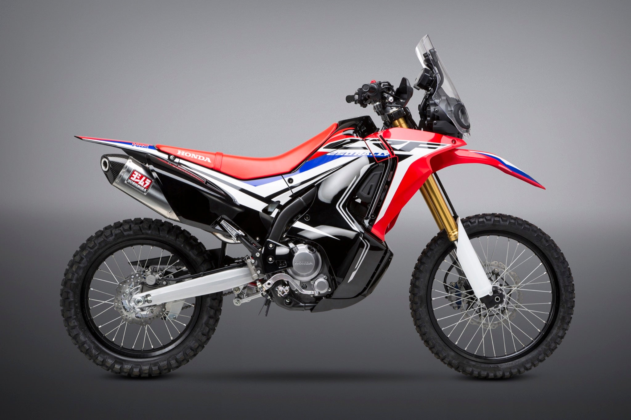 Yoshimura Crf250l Rally 2017 18 Rs 4 Stainless Exhaust Stainless