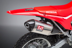 CRF250L/Rally 17-20 Race RS-4 Stainless Slip-On Exhaust, w/ Stainless Muffler