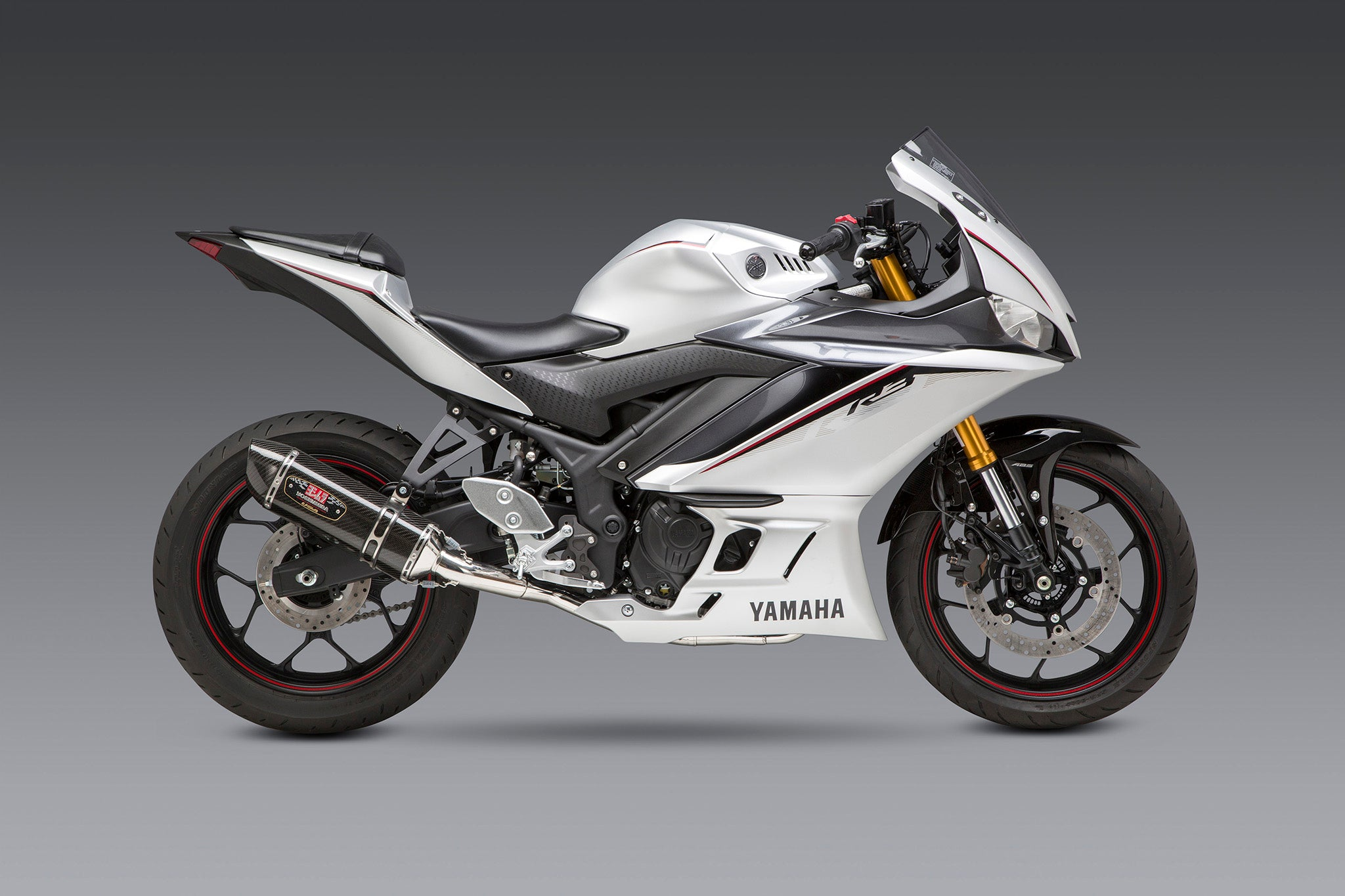 Yoshimura Yzf R3 2015 20 R 77 Stainless Exhaust Carbon