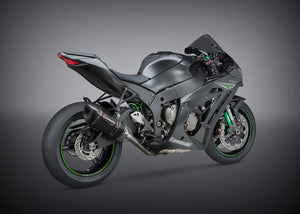 ZX-10R/RR 16-20 Race ALPHA 3/4 Titanium Exhaust, With Carbon Fiber Muffer