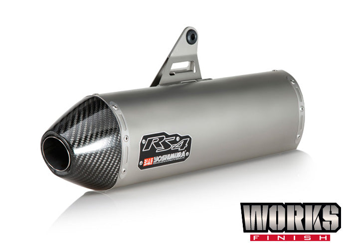 1090/1190/1290 Adventure RS-4 Stainless Slip-On Exhaust, w/ Stainless Muffler