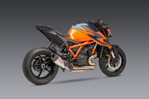 1290 SUPER DUKE R 2020 AT2 Titanium Slip-On Exhaust, w/ Titanium Muffler