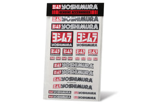 "Yoshimura Decal Sheet 8mil 12"" x 19"""