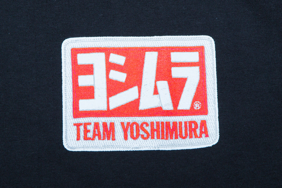 Yoshimura Small Bore Drags Tee Black