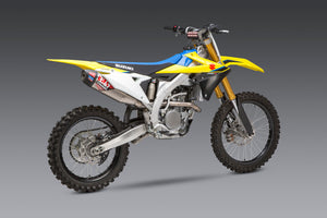 RM-Z250 19-20 RS-12 Titanium Full Exhaust, With Titanium Muffer