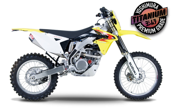 RM-Z450 08-17/RMX450Z 10-11 RS-4 Titanium Full Exhaust, With Titanium Muffer