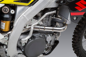 RM-Z450 18-20 RS-12 Stainless Full Exhaust, w/ Aluminum Muffler