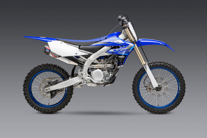YZ250F 19-20 RS-12 Stainless Full Exhaust, w/ Aluminum Muffler
