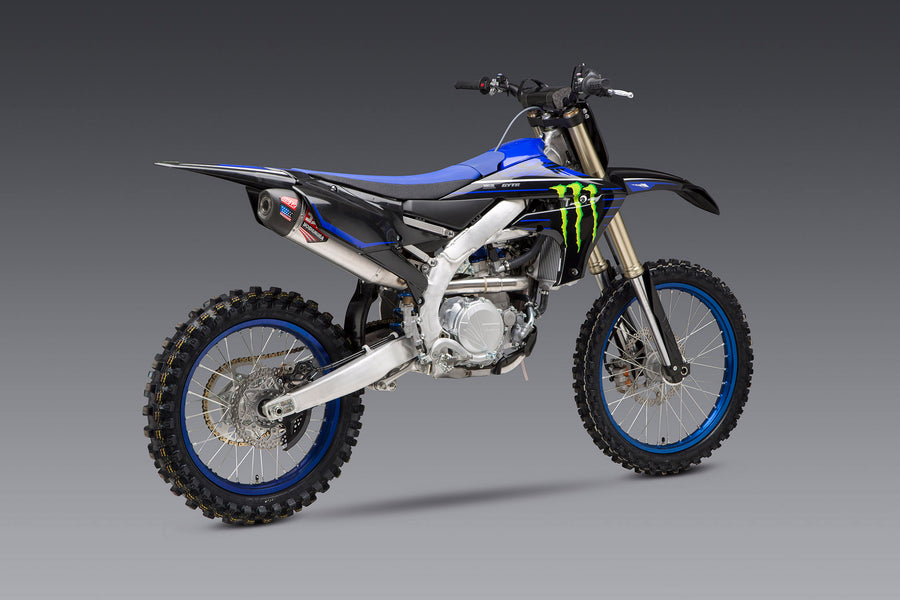 YZ450F 20-21 RS-12 Stainless Full Exhaust, w/ Aluminum Muffler