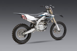 YZ450F 18-21 / WR450F 19-20 / YZ450FX 19-20 RS-4 Stainless Slip-On Exhaust, w/ Aluminum Muffler