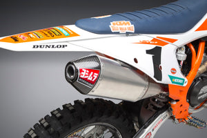 KTM 450SX-F/HUSQ FC450 18-20 RS-4 Stainless Slip-On Exhaust, w/ Aluminum Muffler