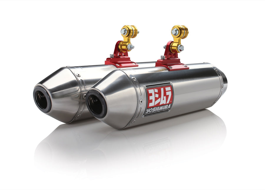MAVERICK 13 RS-2 Stainless Slip-On Exhaust, w/ Stainless Mufflers