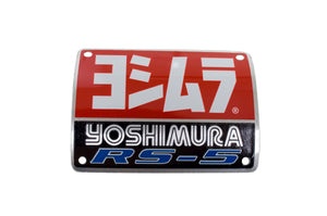 MUFFLER NAME BADGE RS5