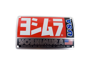 MUFFLER NAME BADGE RS3 OVAL (square USA)