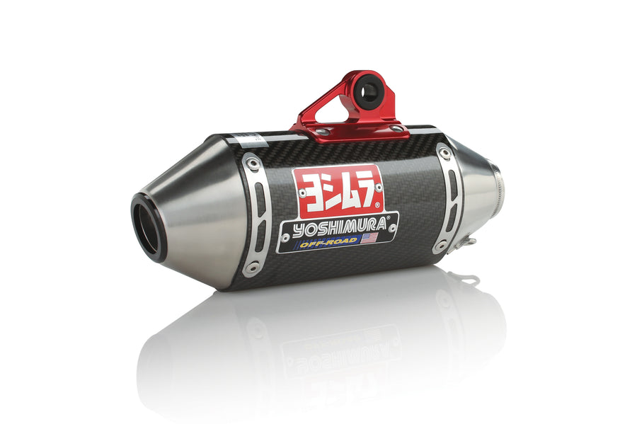 RZR170 10-16 RS-2 Stainless Full Exhaust, w/ Carbon Fiber Muffler