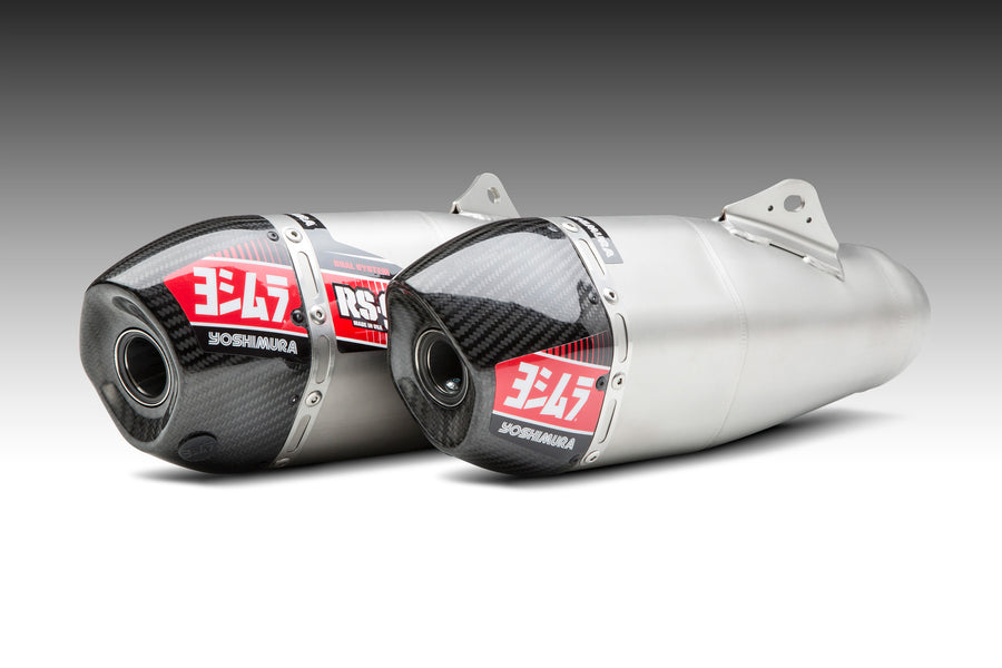 CRF450R/RX 19-20 RS-9T Stainless Slip-On Exhaust, w/ Stainless Mufflers