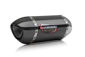 GSX-R1000 12-16 ALPHA Stainless Slip-On Exhaust, w/ Carbon Fiber Muffler